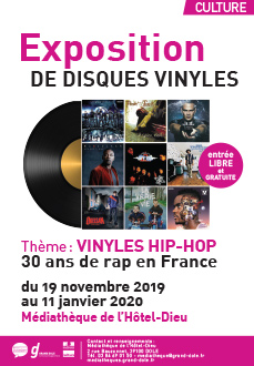 Vinyles Hip-hop : 1989-2019 : 30 ans de rap en France