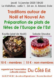 Traditions & Plats de Noël et Nouvel An en Europe de l'Est